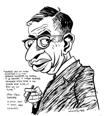 Jean-Paul Charles Aymard Sartre 1905-1980