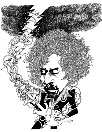 James Marshall Hendrix (Jimi) 1942-1970