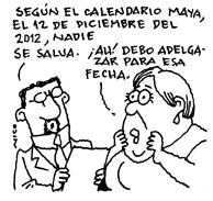 Según el calendario Maya (1/6)