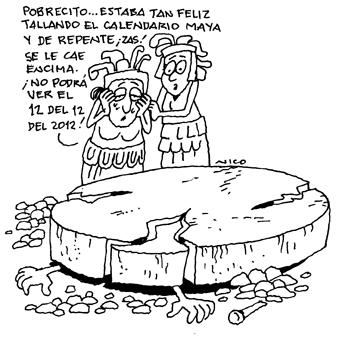 Según el calendario Maya (3/6)