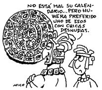 Según el calendario Maya (4/6)