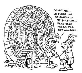Según el calendario Maya (5/6)