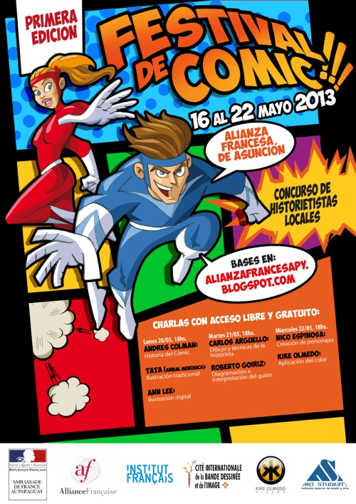 Festival de cómics 3 - Afiche A3