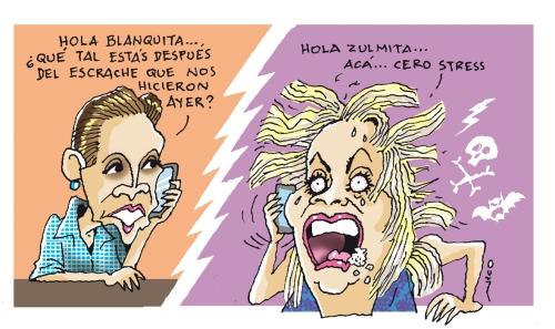 Zulma y Blanca
