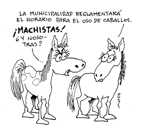 uso de caballos