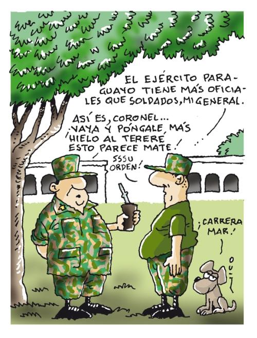 menos soldados