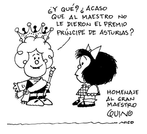 Homenaje a Quino