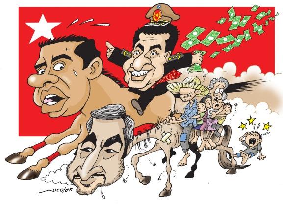 caricatura elecciones internas