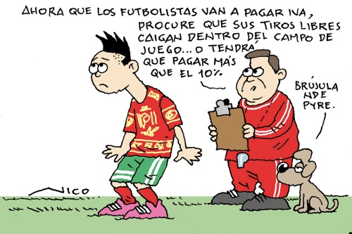 IVA a futbolistas