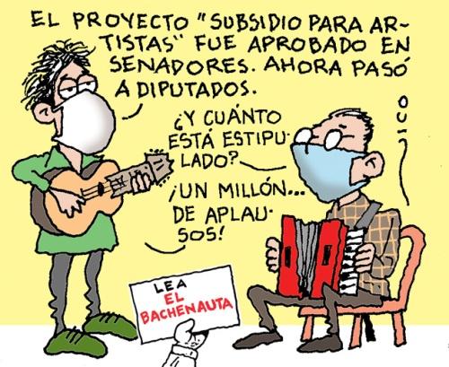 subsidio para artistas
